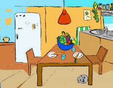 Interaktive Küche